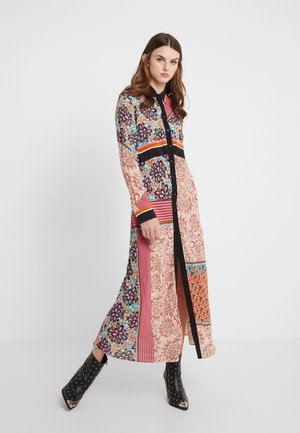GRANETTI ABITO HABUTAY - Shirt dress - multi/rosa/bruciato