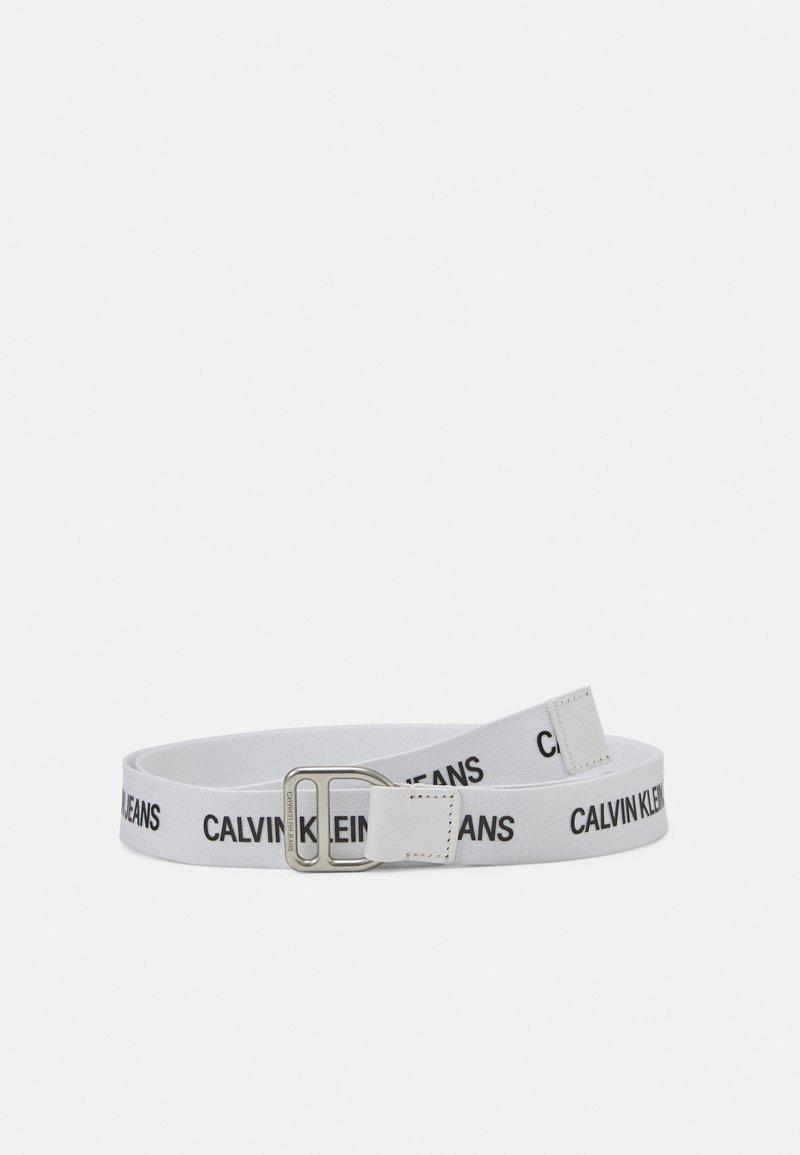 Calvin Klein Jeans - SLIDER WEBBING BELT - Skärp - bright white
