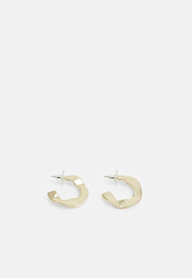 PHOEBE BIG RING EAR PLAIN - Náušnice - gold-coloured
