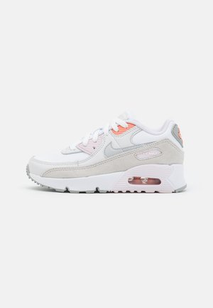 AIR MAX 90 UNISEX - Trainers - white/metallic platinum/platinum tint/light violet