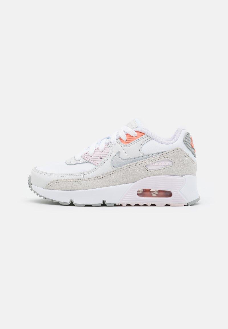 Nike Sportswear - AIR MAX 90 UNISEX - Sneakers laag - white/metallic platinum/platinum tint/light violet