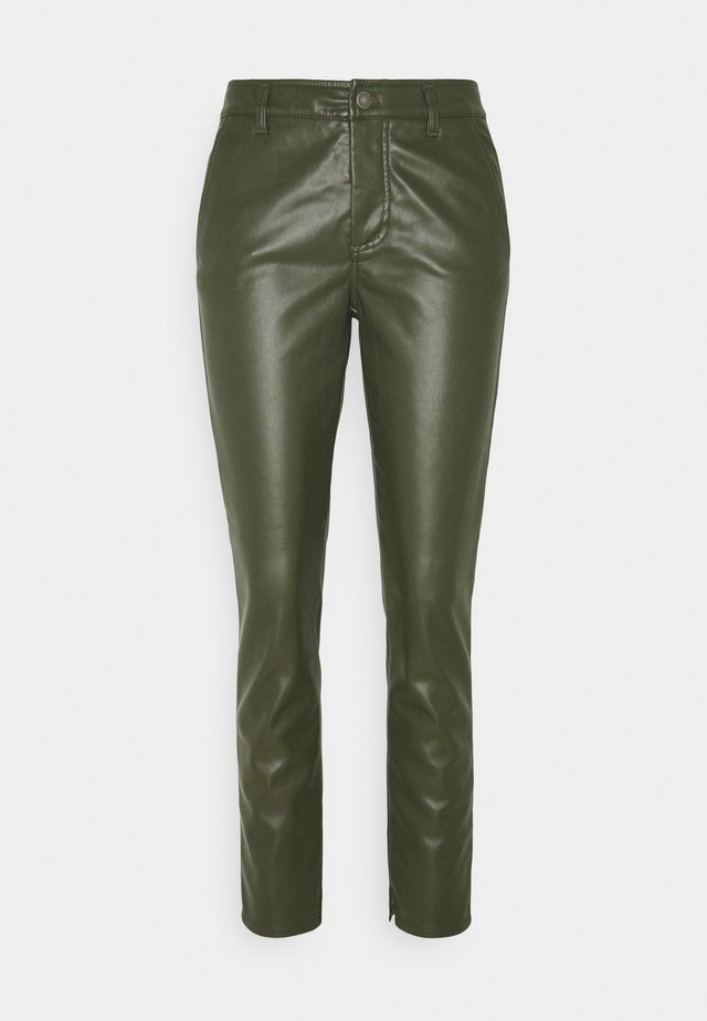 TROUSERS SPLIT - Pantaloni - green