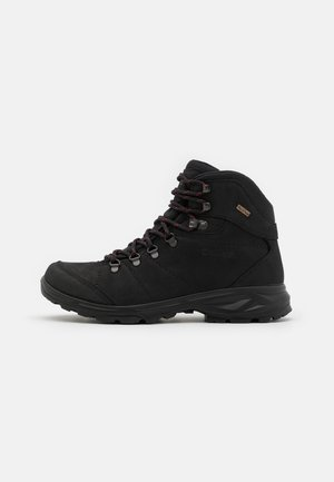 ORTLER WP - Hiking shoes - dark charcoal