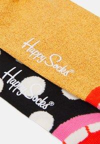 Happy Socks - LAUGH HALF CREW SOCK 2 PACK UNISEX - Socks - multi - 1