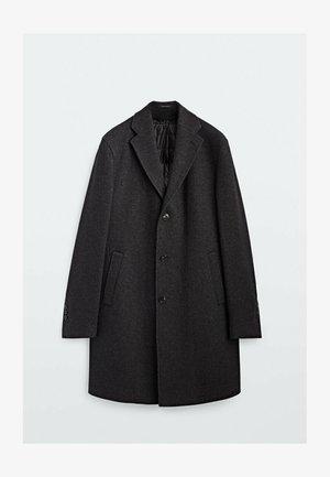 WITH DETACHABLE INTERIOR - Classic coat - grey