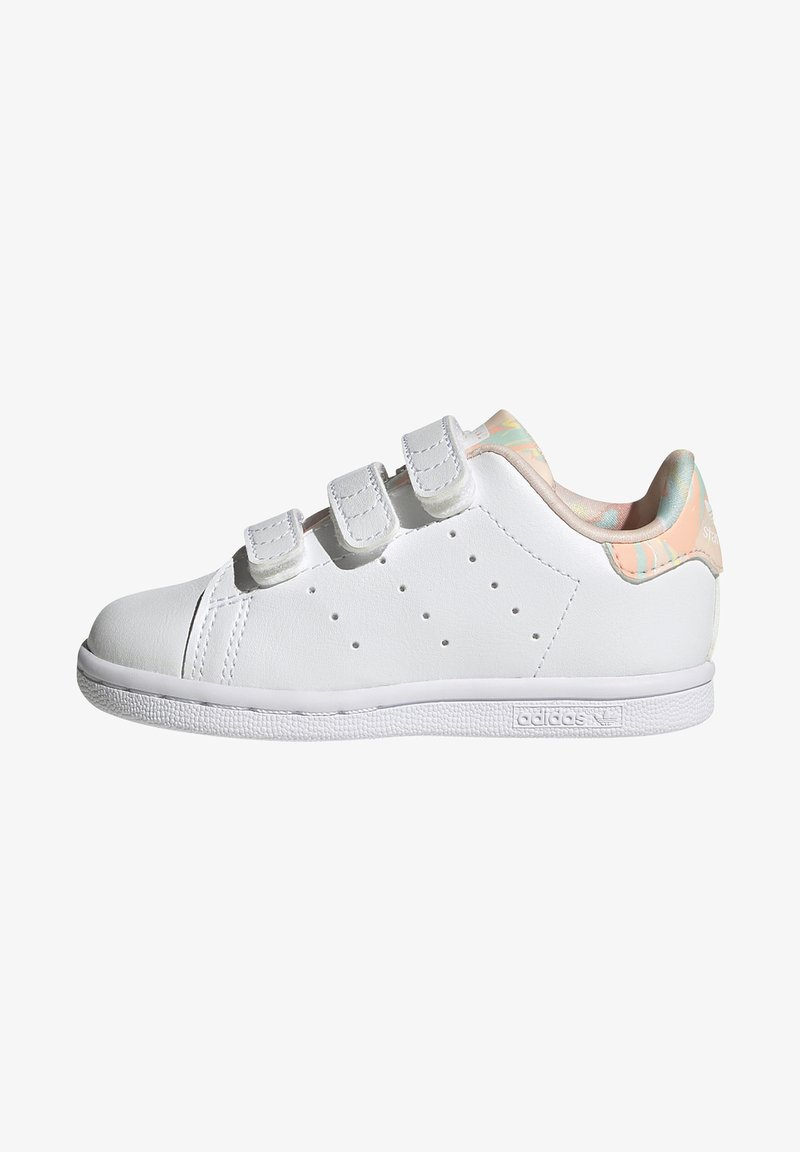 adidas Originals - STAN SMITH ORIGINALS PRIMEGREEN SHOES UNISEX - Sneakers basse - ftwr white/haze coral/ftwr white