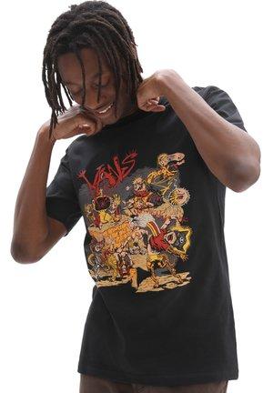 MN OFF THE WALL GALLERY DWIKY KA SS - Print T-shirt - black