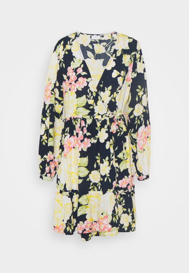 VIMESA WRAP DRESS - Sukienka letnia - navy blazer
