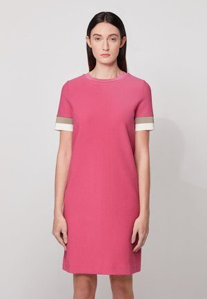 DASTRIPED - Shift dress - pink