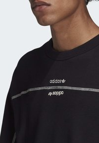 adidas Originals - CREW SWEATSHIRT - Sweatshirt - black - 5