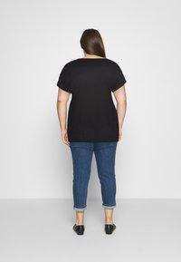 Pieces Curve - PCBILLO TEE SOLID - Basic T-shirt - black - 2
