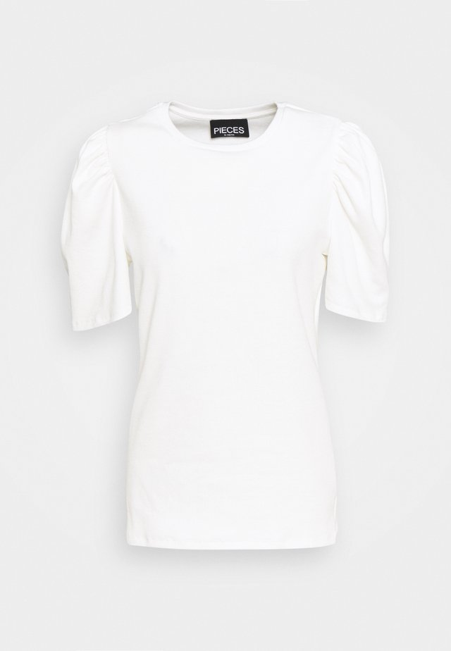 PCANNA - T-shirt - bas - bright white