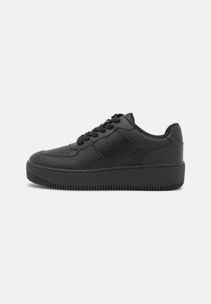 VEGAN FRESH - Sneakers laag - black