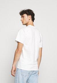 HUF - FLOWER BOX LOGO TEE - T-shirt imprimé - white - 2