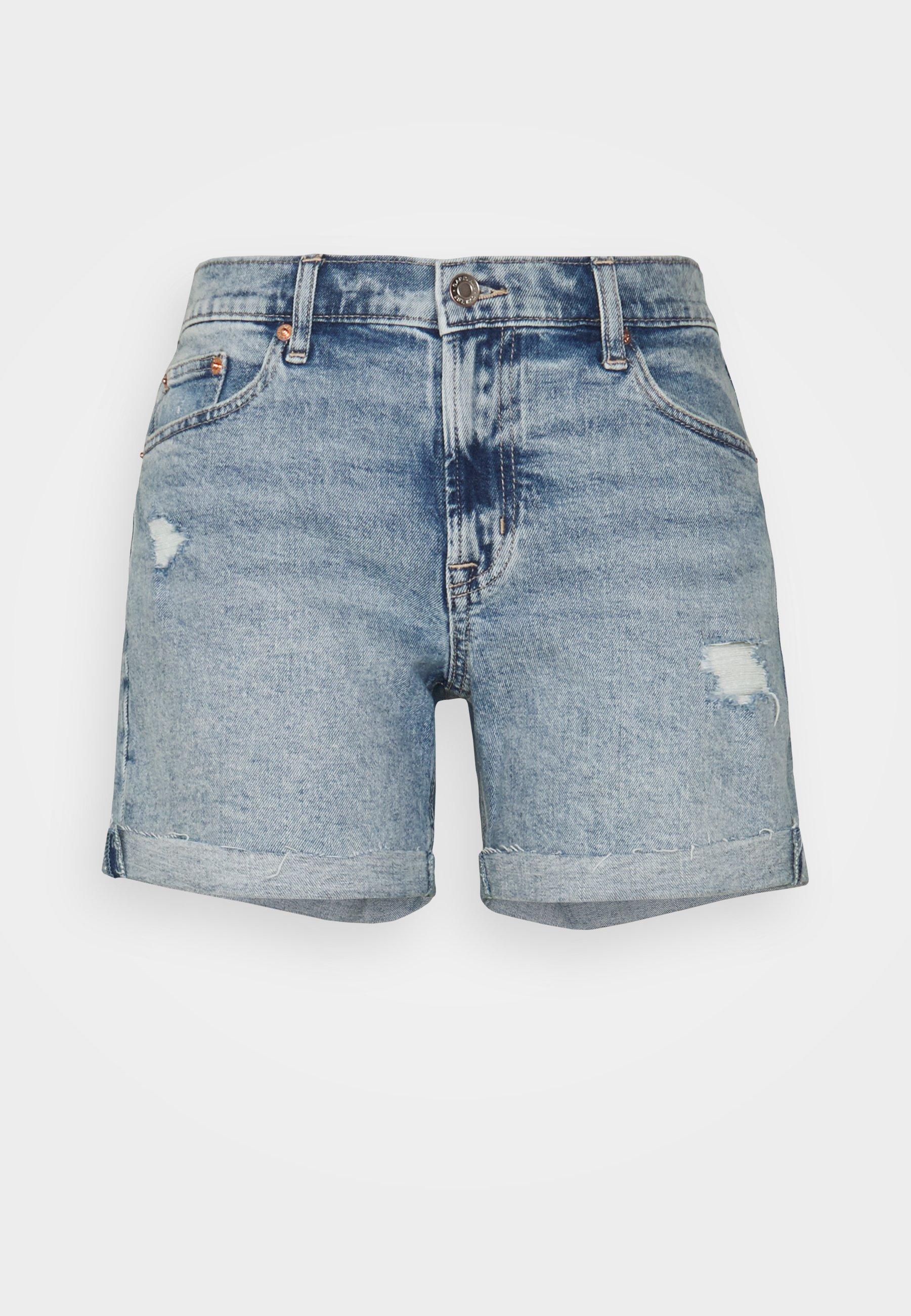 Women V-5IN SHORT - Denim shorts