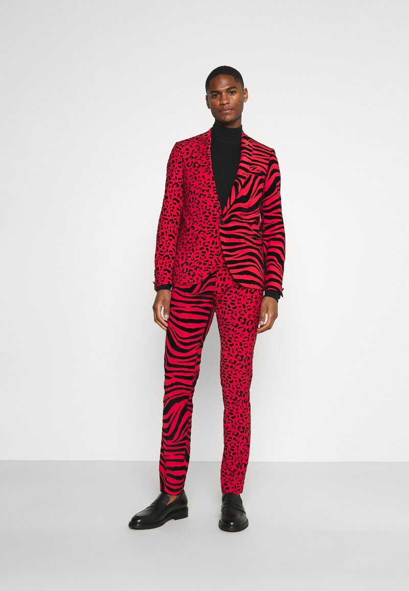 Twisted Tailor - GEHRY SUIT  - Suit - burgundy