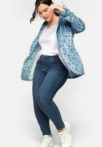 Sheego - Jeans Skinny Fit - blue denim - 0