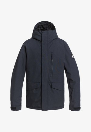 MISSION SOLI - Snowboard jacket - TRUE BLACK