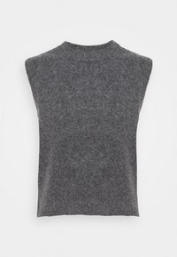 ARKET - Basic T-shirt - grey dark - 0