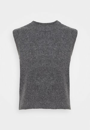 Basic T-shirt - grey dark