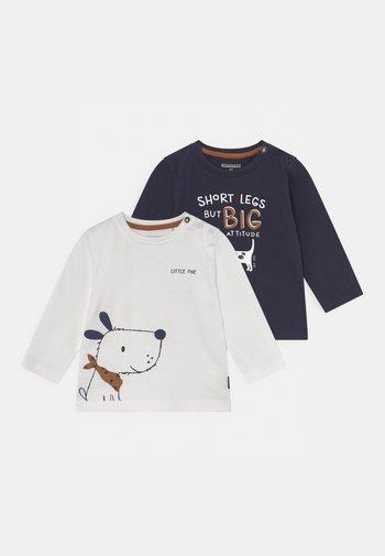 2 PACK - Pitkähihainen paita - dark blue
