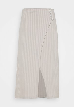 Pencil skirt - taupe