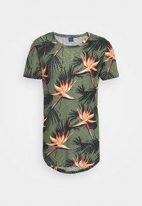 Jack & Jones - JORFLORALL - Print T-shirt - sea spray - 5