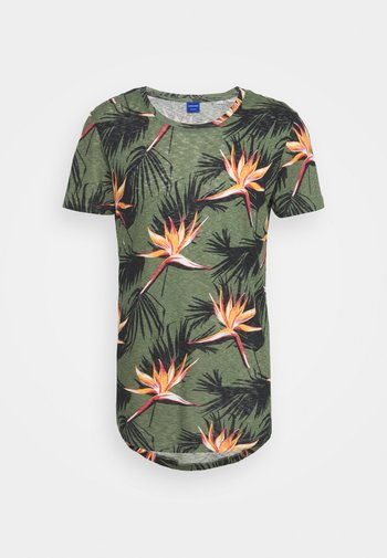 JORFLORALL - T-shirt print - sea spray
