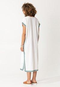 Indiska - BORA BORA - Robe d'été - white - 1