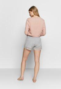 Skiny - DAMEN SLEEP AND DREAM - Pyjama bottoms - stone grey melange - 2