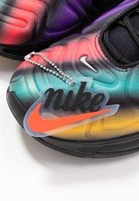 Nike Sportswear - AIR MAX  - Trainers - black/metallic silver/university gold/flash crimson/kinetic green/psychic purple - 7