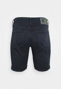 G-Star - 3301 SLIM - Denim shorts - bracket stretch twill - mazarine blue - 1
