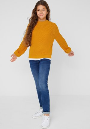 SOFTER - Strickpullover - yellow knit