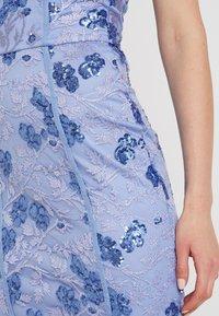 Rare London - SEQUIN DETAIL MIDI DRESS - Vestido de cóctel - blue - 7