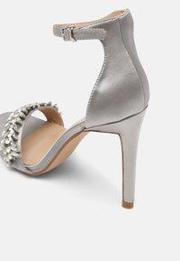 BEBO - CHRISTAL - High heeled sandals - grey - 5