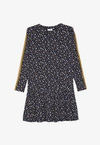 The New - MELROSE FRILL DRESS - Jersey dress - black iris - 2