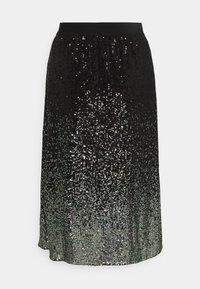 comma casual identity - A-line skirt - grey/black - 1