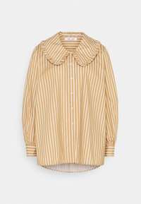 Samsøe Samsøe - FRANKA LONG - Button-down blouse - tan - 0