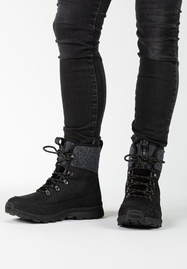 ADAK W MICHELIN WIC - Winter boots - black/grey