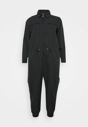 UTILITY - Jumpsuit - black/white