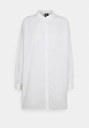 VMBINA OVERSIZE - Button-down blouse - snow white