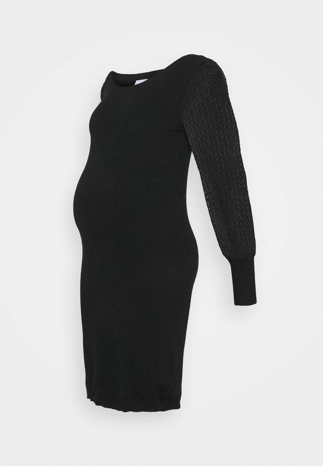 MLMADIA MIX DRESS - Etui-jurk - black