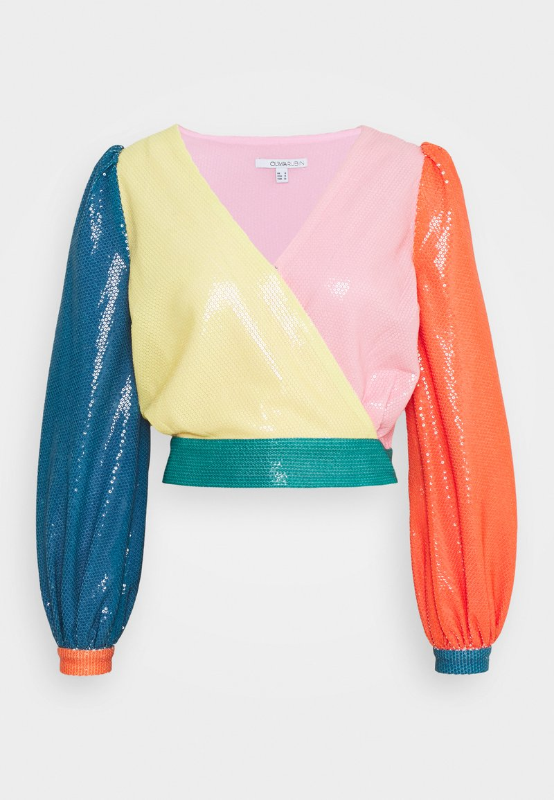Olivia Rubin - KENDALL - Long sleeved top - colourblock