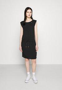 Ragwear - MASCARPONE - Denní šaty - black - 0