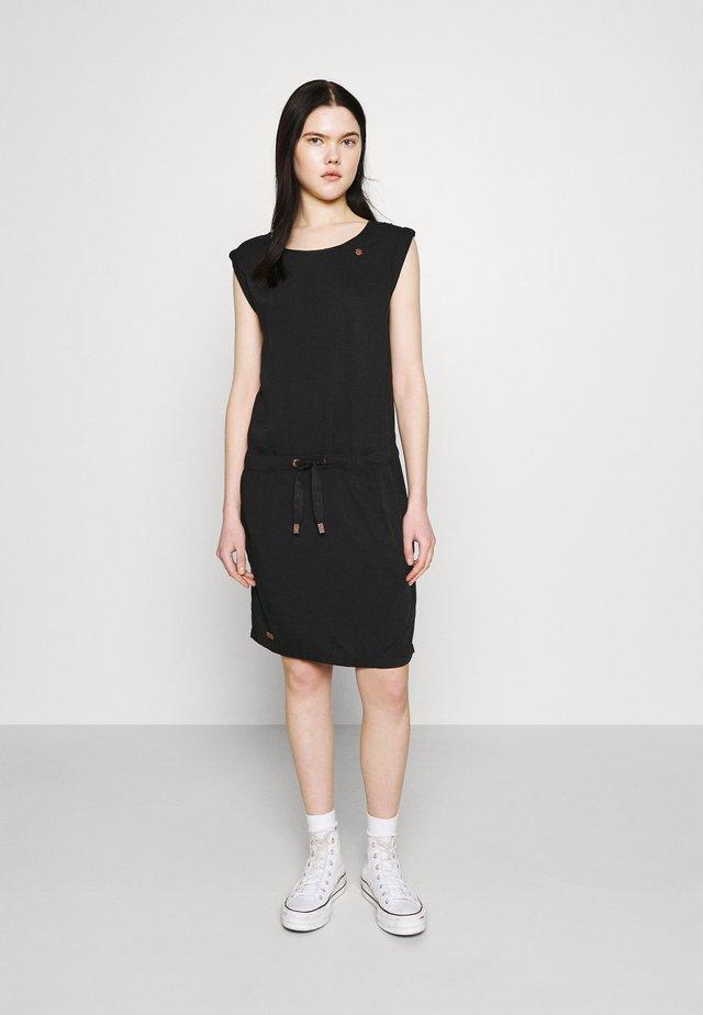 MASCARPONE - Korte jurk - black