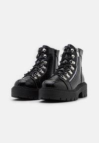 Glamorous Wide Fit - Snørestøvletter - black - 2