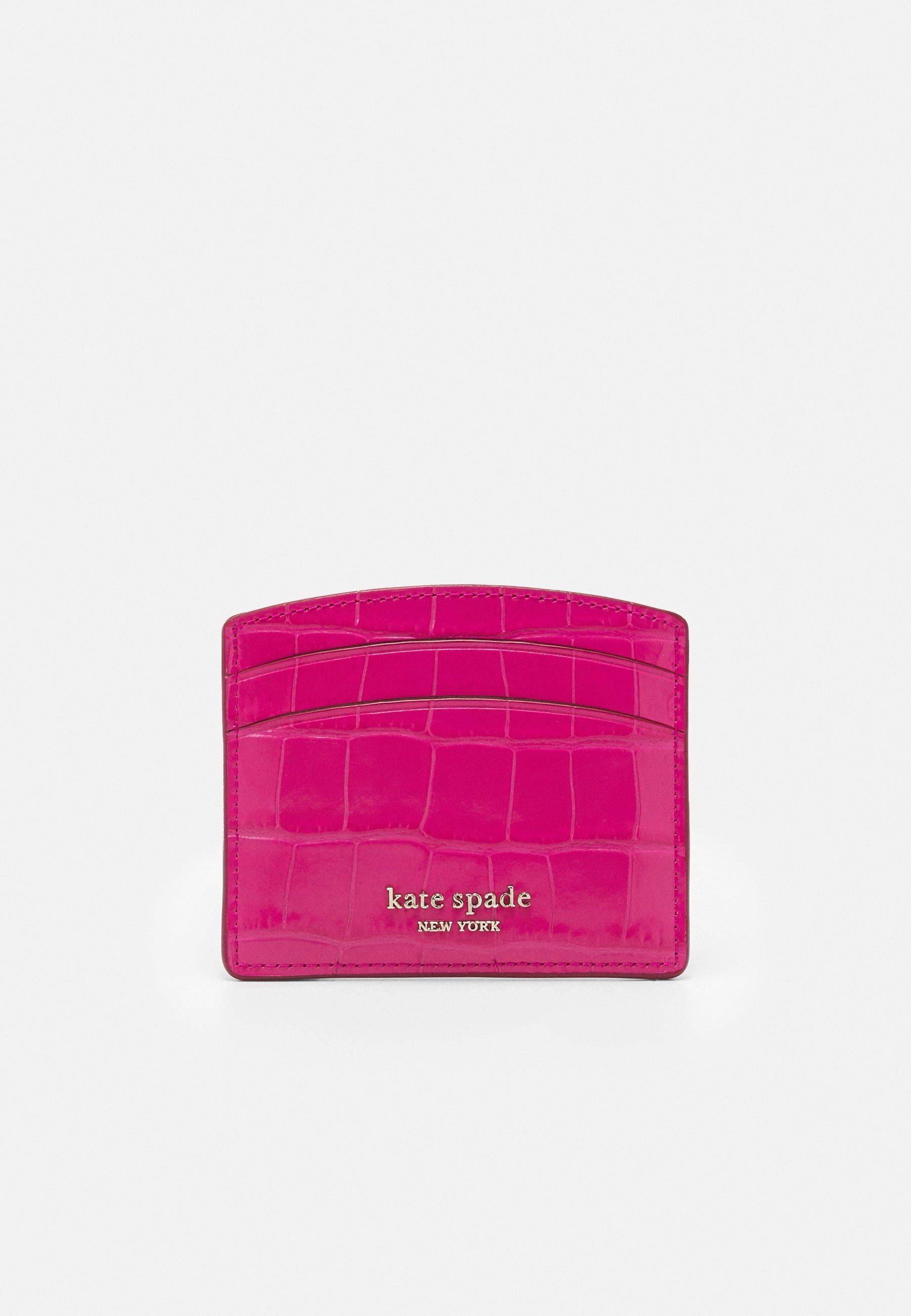 Women SPENCER CROC EMBOSSED CARD HOLDER - Business card holder