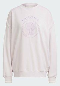 adidas Originals - GRAPHIC SWEATER ORIGINALS PULLOVER - Sweatshirt - pearl amethyst - 4