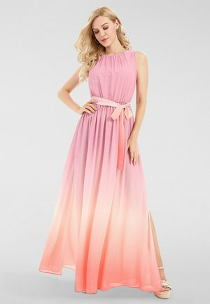Robe longue - rose-apricot-peach