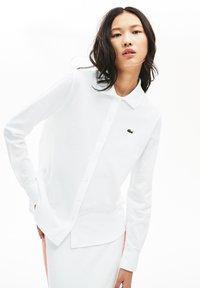 Lacoste - Button-down blouse - white - 0